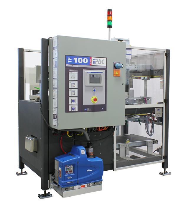 IPAK's smallest footprint servo-based machine TF-100