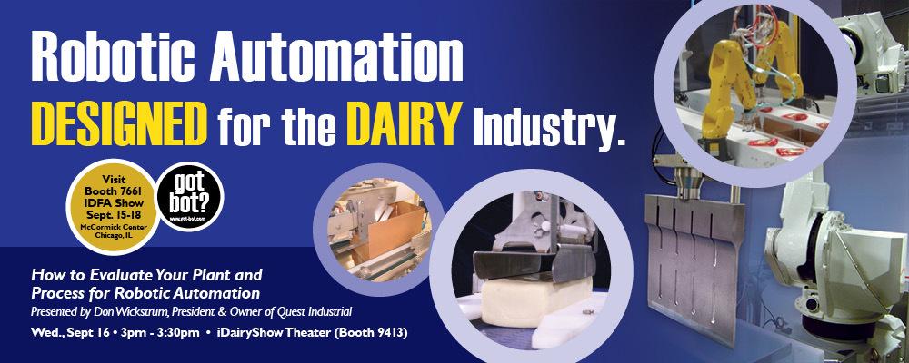 Quest Attending 2015 International Dairy Show