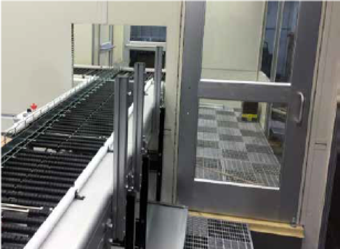 Cleanroom Pass-Through Conveyor from Shuttleworth