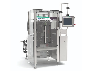 Matrix Morpheus Vertical Form Fill Seal Machine at Snaxpo 2018
